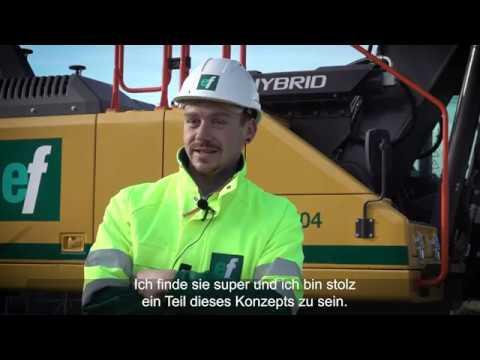 Volvo-Raupenbagger EC300E Hybrid - Ernst Frey AG