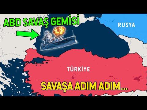 ABD Gemiyi Yolladı! Hedef Rusya ve Türkiye
