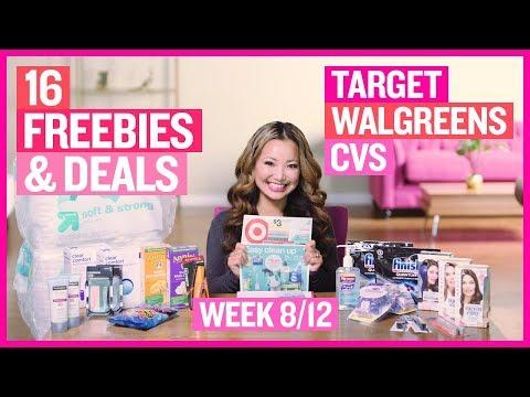 ★ 16 FREEBIES & Deals at Target, CVS, & Walgreens (Week 8/12 – 8/18)