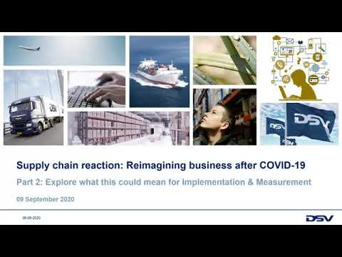 Supply chain reaction: reimagining business after Covid19