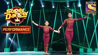 "Shagun और Aishwarya के ""सुन साथिया"" Performance ने  जीता Ajay Devgn का दिल | Super Dancer Chapter 2 - SETINDIA"