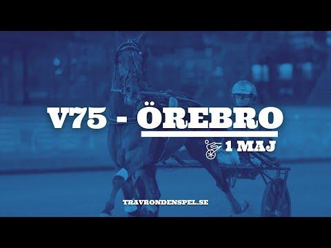 V75 tips Örebro | 1 maj
