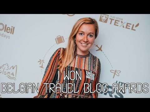 Belgian Travel Blog Awards Vlog: I won!