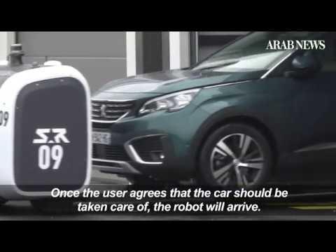 Lyon Airport launches valet robot parking service