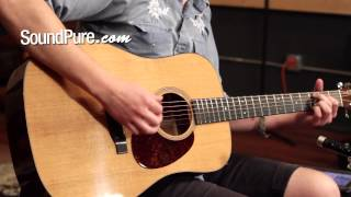 Bourgeois Aged Tone Mahogany Dreadnought Acoustic Guitar Demo