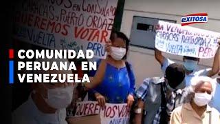 ????????Elecciones 2021: Comunidad peruana en Venezuela exige que les permitan votar en la segunda vuelta