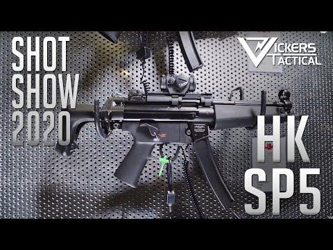 SHOT SHOW 2020 - H&K SP5