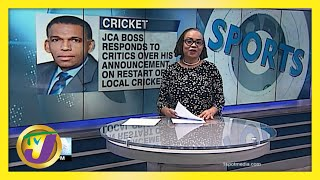 JCA Defends Decision to Delay Return of Cricket - May 27 2021
