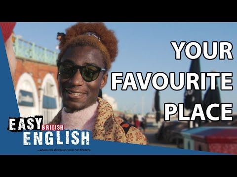 Where is your favourite place?   Easy English 41 photo