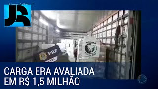 Polícia de GO prende quadrilha acusada de roubar mais de 30 toneladas de carne tipo exportação
