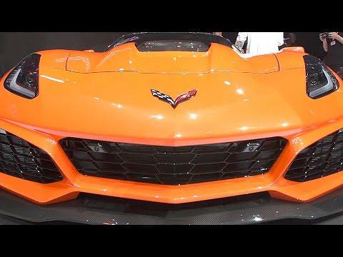2019 Corvette ZR1 reveal (755-HP) Return of the King