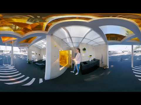 MINI LIVING   Urban Cabin in Beijing 360° Tour