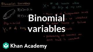 Binomial variables