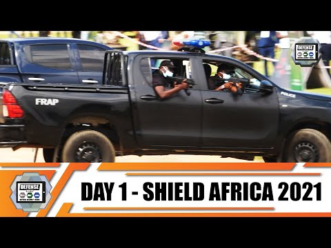 ShieldAfrica 2021  News Show Daily Day 1 Security and Defense Exhibition in  Abidjan Côte d'Ivoire
