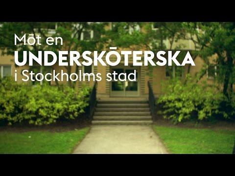 Möt en undersköterska i Stockholms stad
