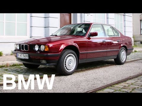 The BMW 5 Series History. The 3rd Generation (E34)