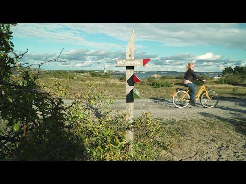 Henriettes Sverige - Sykkeltur på Koster