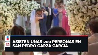 Boda en Nuevo León provoca brote de coronavirus