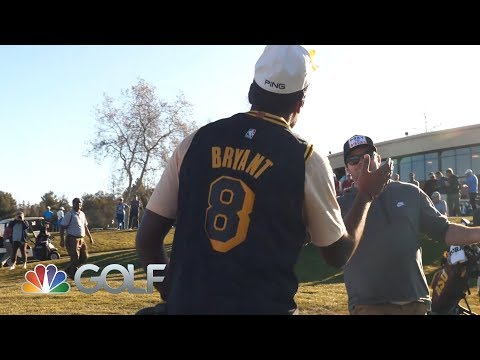 Pepperdine's Sahith Theegala pays tribute to Kobe Bryant in tournament win | Golf Channel