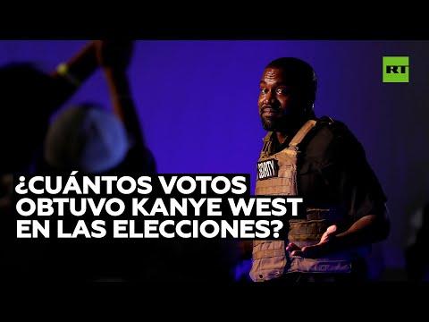 Los resultados de Kanye West en estas presidenciales