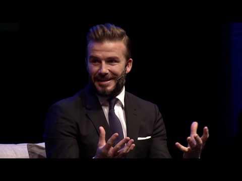 David Beckham | Discovery Leadership Summit 2016