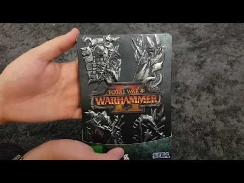 Total War Warhammer 2 HD german Unboxing ★Limited Edition mit Let's play Info