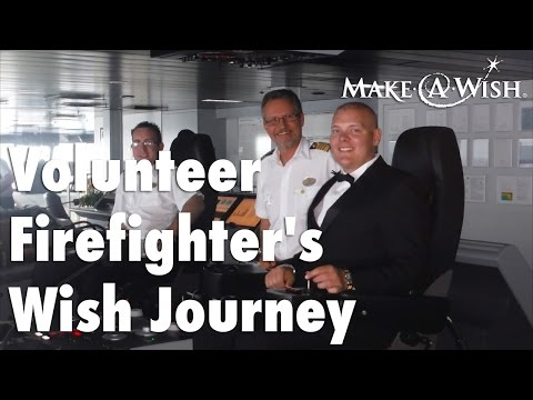 Volunteer Firefighter's Wish Journey