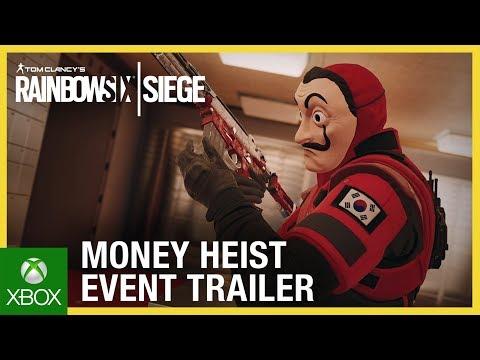 Rainbow Six Siege: Money Heist Event | Trailer | Ubisoft [NA]