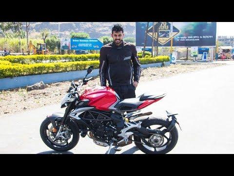 connectYoutube - MV Agusta Brutale 800 Review - Fast & Very Furious   Faisal Khan