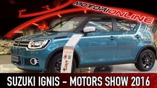 Suzuki IGNIS al Motor Show di Bologna 2016