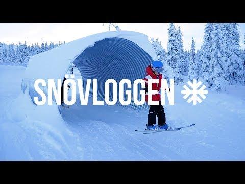 Vinterns roligaste nyhet och drömåk med Hans Fahlén l SNÖVLOGG 12