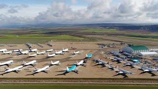 El aeropuerto de Teruel vive la cara amable de la crisis turística gracias al mantenimiento de …