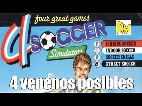 Retromierdas #96: 4 Soccer Simulators.