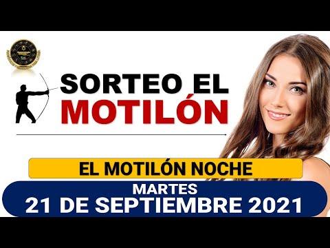 Resultado MOTILÓN NOCHE del martes 21 de septiembre de 2021