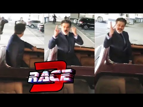 connectYoutube - Anil Kapoor Dhamakedaar Entry For Race 10 Years | RACE 3