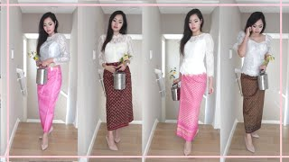 How I style my top favorite Khmer / Cambodian outfits