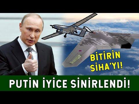 SİHA'lar Putin'in Ayarını Bozdu!