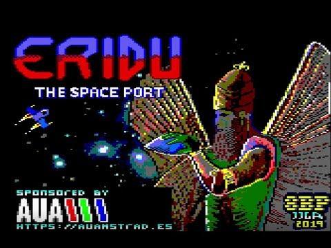 """Nuevo juego para Amstrad """"Eridu: the space port"""""""