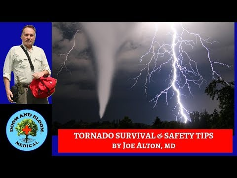 Tornado Safety Tips and Survival Advice