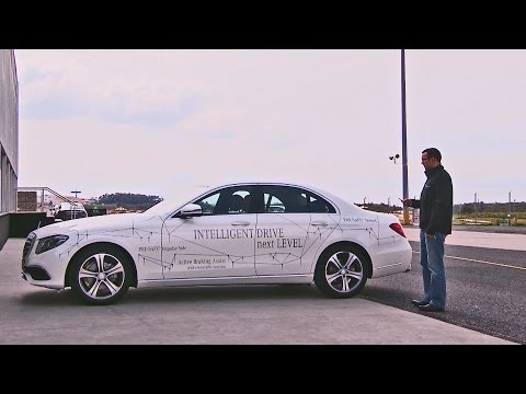 2017 E-Class - Remote Parking Pilot demonstrations