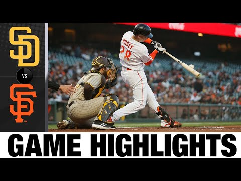 Padres vs. Giants Game Highlights (9/14/21)   MLB Highlights