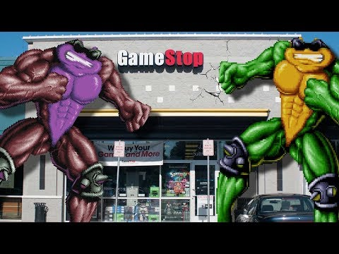 Battletoads VS Gamestop