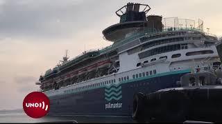 1.000 colombianos varados en Colón Panamá, en crucero que Cartagena no recibe