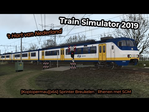 [Koplopermau][x64] Sprinter Breukelen - Rhenen met SGM -- Livestream 11/05/2019