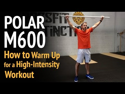 How to Warm Up for a High-Intensity Workout