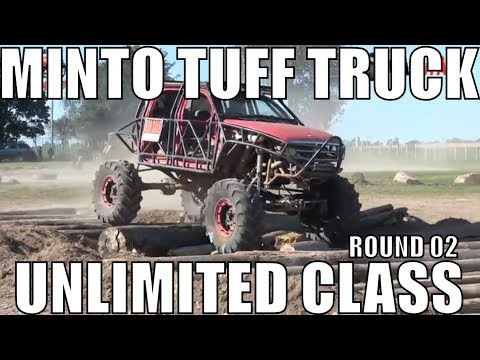 UNLIMITED CLASS ROUND 2 AT MINTO TUFF TRUCK CHALLENGE 2018