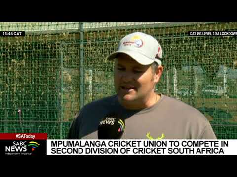 Mpumalanga Cricket Union is now part of Cricket South Africa
