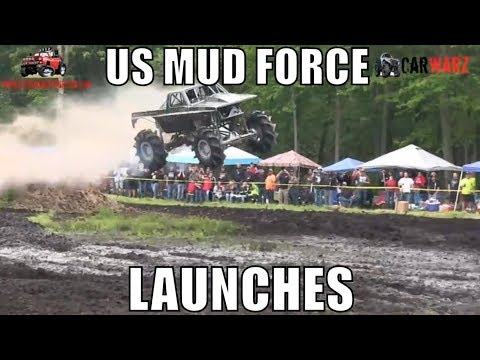 US MUD FORCE Launches It At Perkins Spring Mud Bog