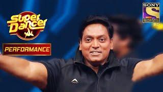 "Ganesh Acharya का स्वागत हुआ ""Malhari"" के साथ   Super Dancer Chapter 2 - SETINDIA"