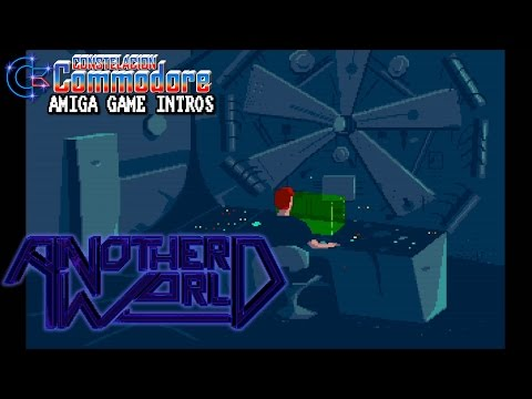 Amiga Game Intro: Another World - Out of This World (Delphine Software,1991)
